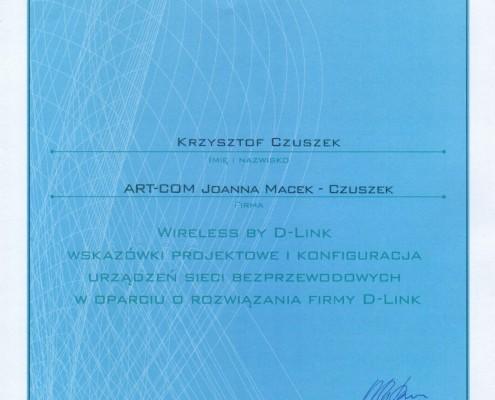 Certyfikat D-Link