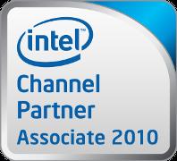 Strona internetowa firmy Intel