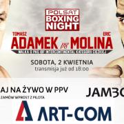 Adamek vs Molina na żywo w PPV JAMBOX
