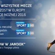 Mecze Euro 2016 - zamów w JAMBOX
